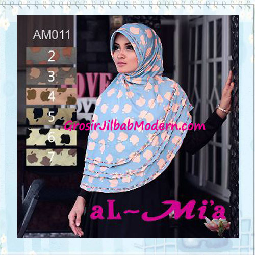 Jilbab Bergo Pet Syar'i Stylish Original Almia Seri 11