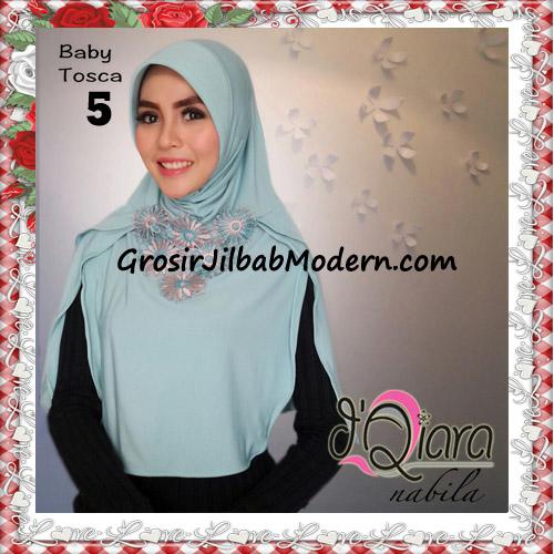 Jilbab Instant Modern Nabila Ala Artis Dian Sastro Original d'Qiara Brand No 5 Baby Tosca
