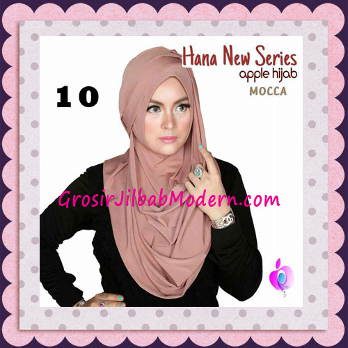 Jilbab Instant Simple Cantik Hana New Series Original By Apple Hijab Brand No 10 Mocca