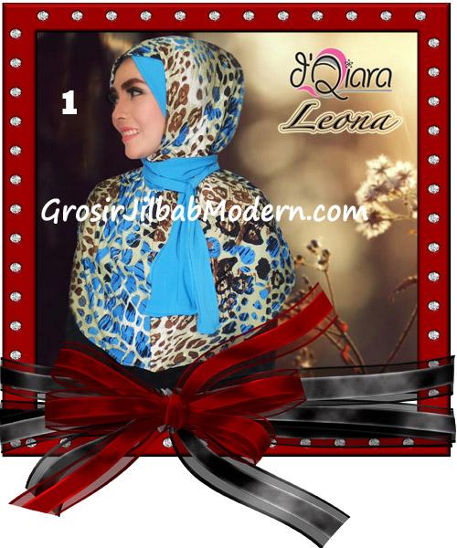 Jilbab Instant Syria Leona Modis Original by d'Qiara Brand No 1