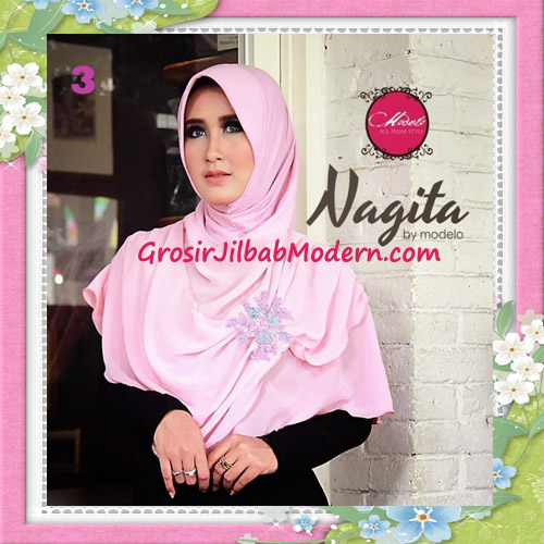 Jilbab Instant Terbaru Trendy Nagita Seri 3 Original by Modelo No 3