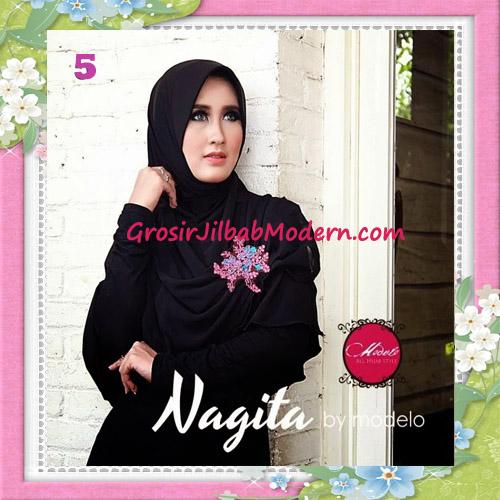 Jilbab Instant Terbaru Trendy Nagita Seri 3 Original by Modelo No 5