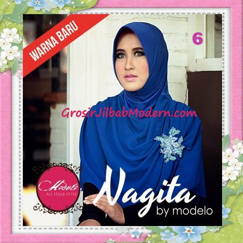Jilbab Instant Terbaru Trendy Nagita Seri 3 Original by Modelo No 6