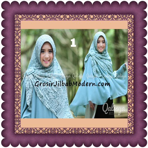 Jilbab Khimar Syar'i Halwa Brukat Modis Trendy By Qasilya Brand No 1 Telur Asin