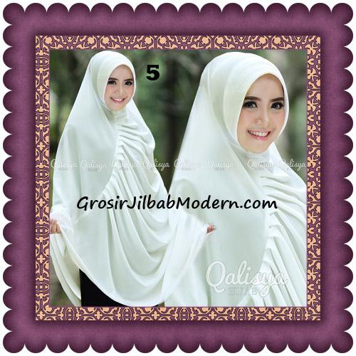 Hijab Cerutti Khimar Rafa Original by Qalisya No 5 Broken White