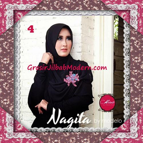 Hijab Instant Modis Trendy Nagita Seri 4 Original by Modelo No 4 Hitam