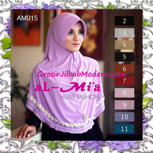 Jilbab Bergo Cantik Simple Almia Seri 15 Series