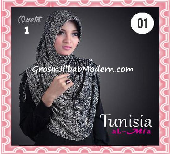 Jilbab Bergo Instant Kerut Tunisia Seri 01 Original By AlMia No 1