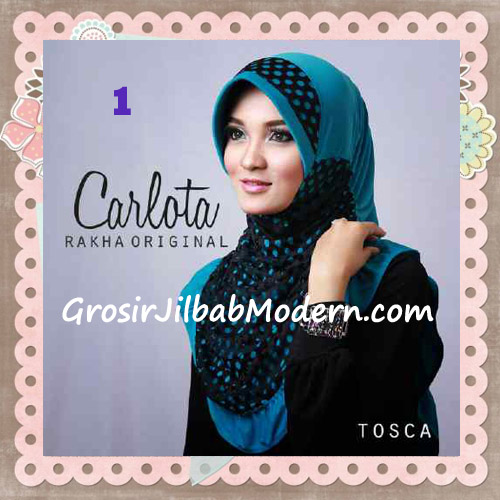 Jilbab Harian Cantik Modis Carlota Original By Rakha Brand No 1 Tosca