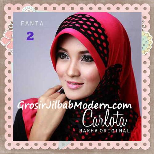Jilbab Harian Cantik Modis Carlota Original By Rakha Brand No 2 Fanta