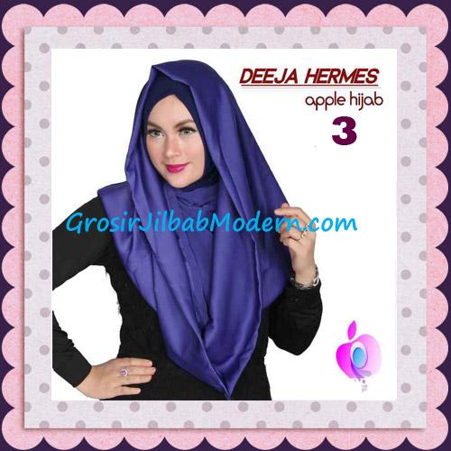Jilbab Hoodie Instant Trendy Deeja Hermes Original By Apple Hijab Brand No 3 Navy