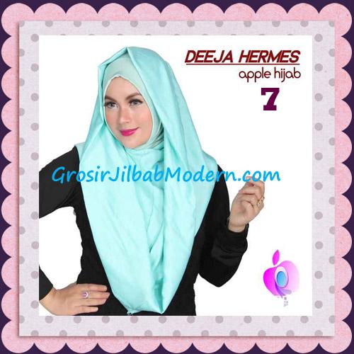 Jilbab Hoodie Instant Trendy Deeja Hermes Original By Apple Hijab Brand No 7 Mint
