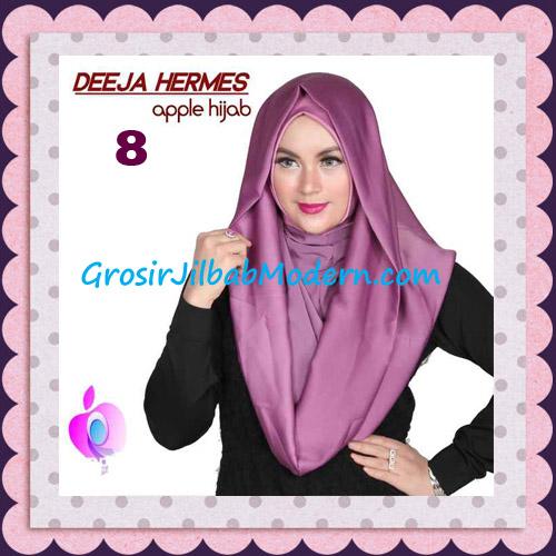 Jilbab Hoodie Instant Trendy Deeja Hermes Original By Apple Hijab Brand No 8