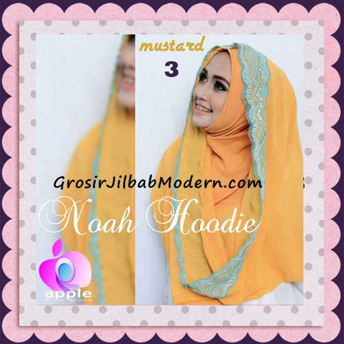 Jilbab Instant Modern Modis Noah Hoodie Original By Apple Hijab Brand No 3 Mustard