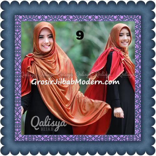 Jilbab Khimar Syar'i Elegan dan Modis Qudsiy Original by Qalisya No 9 Merah