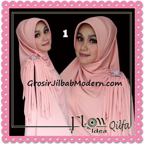Jilbab Modern Instant Syria Qilfa Original Flow Idea No 1 Salem