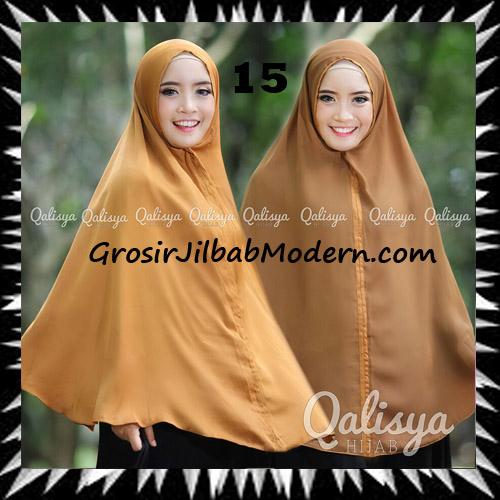 Jilbab Basic Khimar Bolak Balik Cantik Original By Qalisya No 15