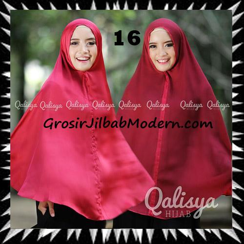 Jilbab Basic Khimar Bolak Balik Cantik Original By Qalisya No 16