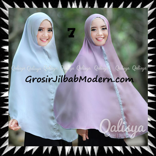 Jilbab Basic Khimar Bolak Balik Cantik Original By Qalisya No 7
