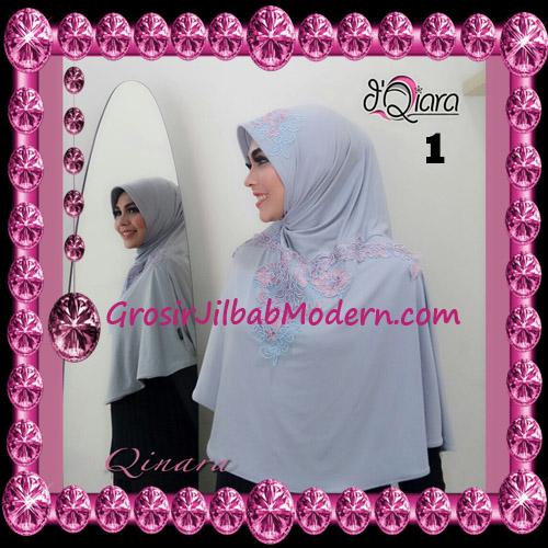 Jilbab Bergo Syar'i Modis Qinara Original By D'Qiara Brand No 1
