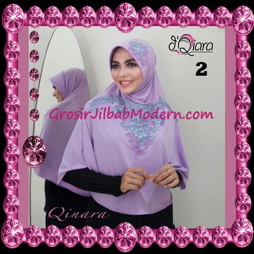 Jilbab Bergo Syar'i Modis Qinara Original By D'Qiara Brand No 2