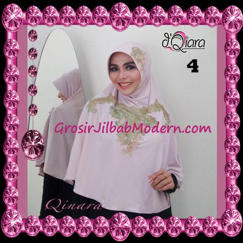 Jilbab Bergo Syar'i Modis Qinara Original By D'Qiara Brand No 4