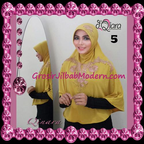 Jilbab Bergo Syar'i Modis Qinara Original By D'Qiara Brand No 5