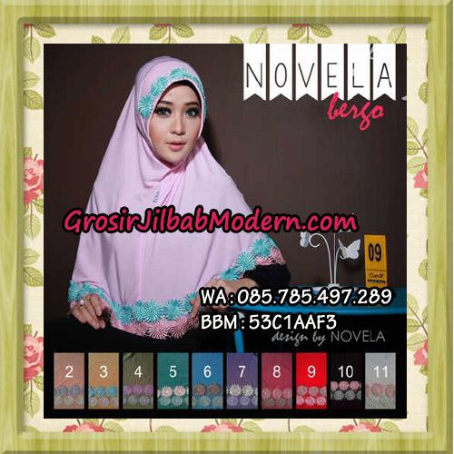 Jilbab Bergo Terbaru Novela Original Design By Novela Series