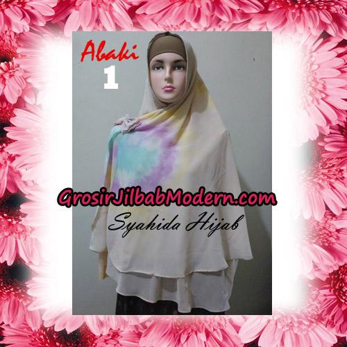 Jilbab Cerutti Tiedye Jumbo Terbaru Khimar Abaky Original By Syahida Brand No 1