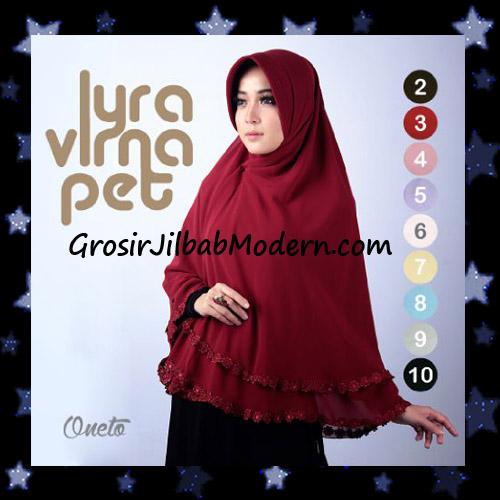 Jilbab Khimar Terbaru Lyra Virna Pet Cantik Original Fa Hijab Brand