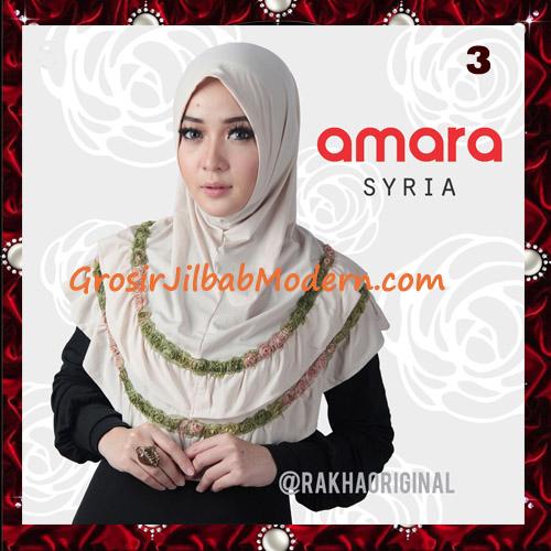 Jilbab Modern Cantik Syria Amara Original By Rakha Brand No 3