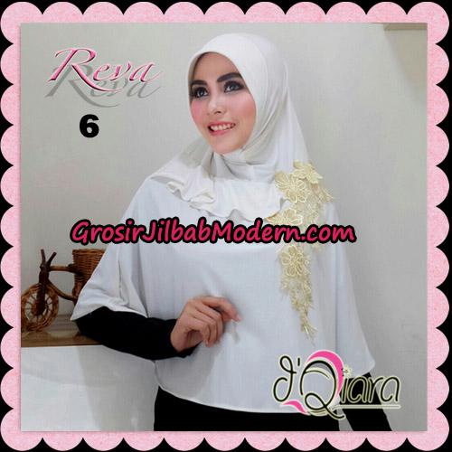 Jilbab Syria Pet Instant Reva Original By d'Qiara Hijab Brand No 6