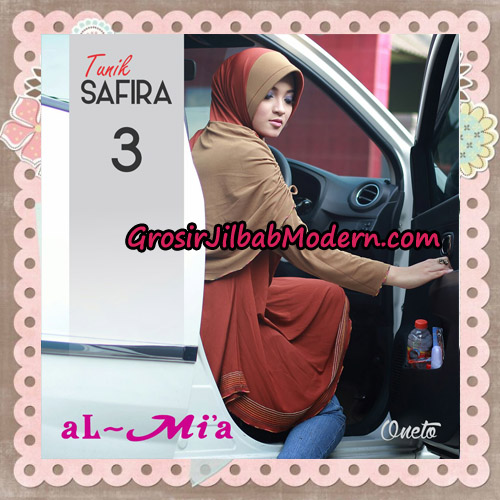 Jilbab Bergo Lengan Instant Tunik Safira Original By Almia ( Al-Mi'a ) Brand No 3