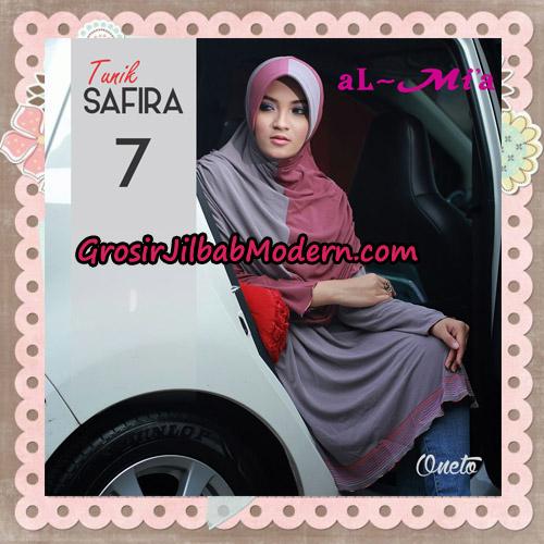 Jilbab Bergo Lengan Instant Tunik Safira Original By Almia ( Al-Mi'a ) Brand No 7