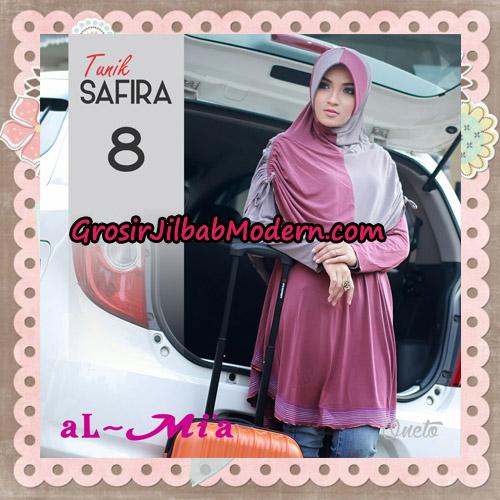 Jilbab Bergo Lengan Instant Tunik Safira Original By Almia ( Al-Mi'a ) Brand No 8