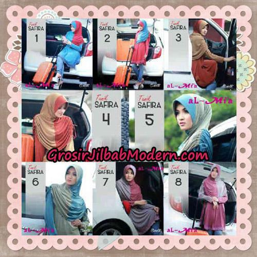 Jilbab Bergo Lengan Instant Tunik Safira Original By Almia ( Al-Mi'a ) Brand Series
