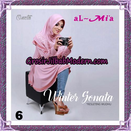 Jilbab Bergo Lengan Instant Tunik Winter Sonata Original By Almia ( Al-Mi'a ) Brand No 6