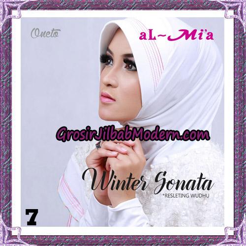 Jilbab Bergo Lengan Instant Tunik Winter Sonata Original By Almia ( Al-Mi'a ) Brand No 7