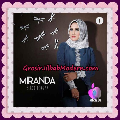 Jilbab Bergo Lengan Modis Premium Miranda Original By Apple Hijab Brand No 1