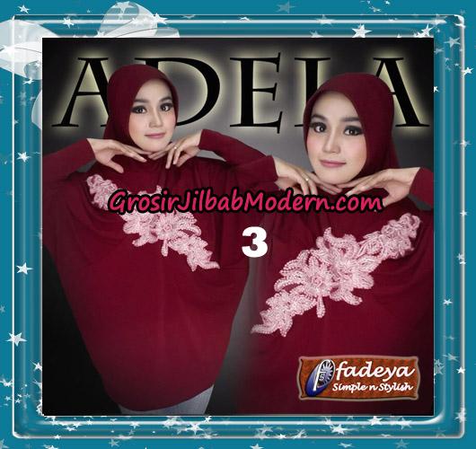 Jilbab Bergo Lengan Trendy Adela Original By Fadeya Brand No 3