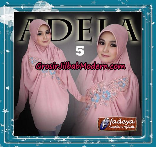 Jilbab Bergo Lengan Trendy Adela Original By Fadeya Brand No 5