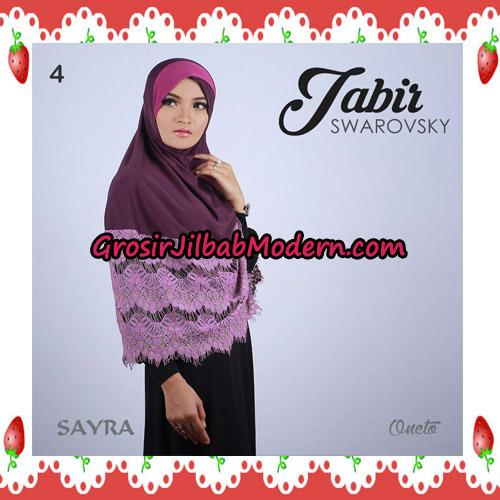 Jilbab Cantik Terbaru Jabir Swarovsky Original By Sayra No 4