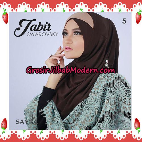 Jilbab Cantik Terbaru Jabir Swarovsky Original By Sayra No 5