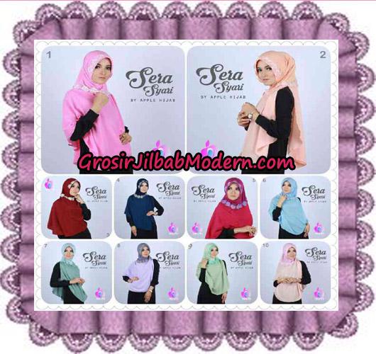 Jilbab Instant Sera Syar'i Cantik Original By Apple Hijab Brand Series