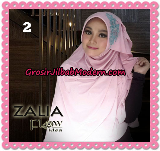 Jilbab Instant Syria Pet Zalia Original By Flow Idea No 2 Baby Pink