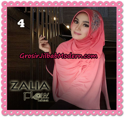 Jilbab Instant Syria Pet Zalia Original By Flow Idea No 4 Peach Tua