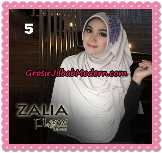 Jilbab Instant Syria Pet Zalia Original By Flow Idea No 5 Krem