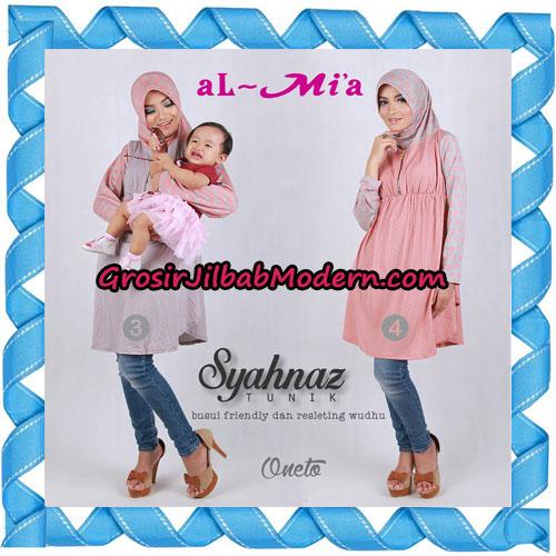 Jilbab Lengan Busui Friendly Tunik Syahnaz Original By Almia ( Al-Mi'a Brand ) No 3 & 4