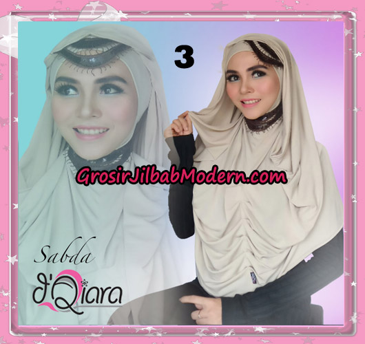 Jilbab Modern Instant Modis Sabda Original By D'qiara Brand No 3