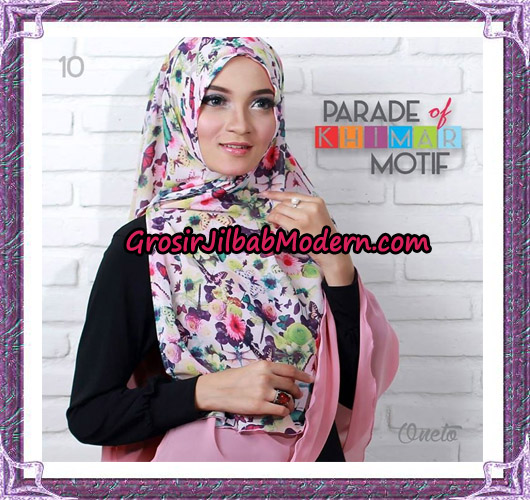 Jilbab Parade Of Khimar Motif Tanpa Pet Support By Oneto No 10